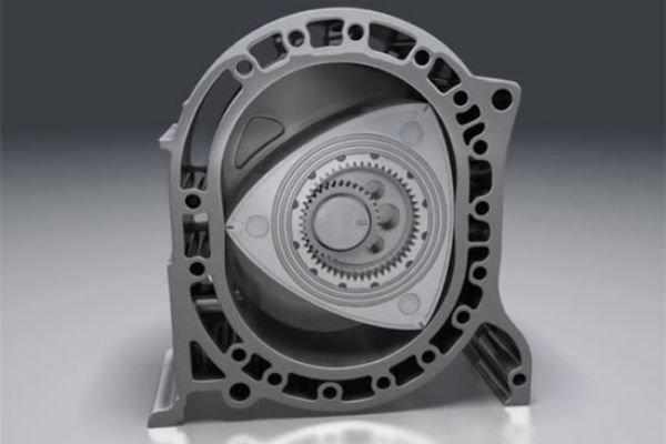 A wankel-rotary engine