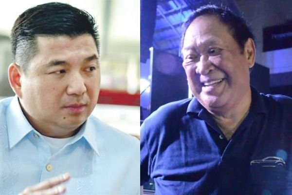 A picture of Dennis Uy and Willy Soong