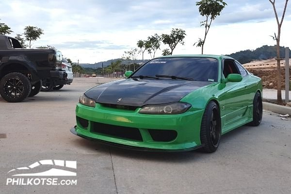 NIssan S15 parked on the Road