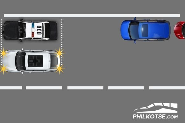 parallel parking dimension