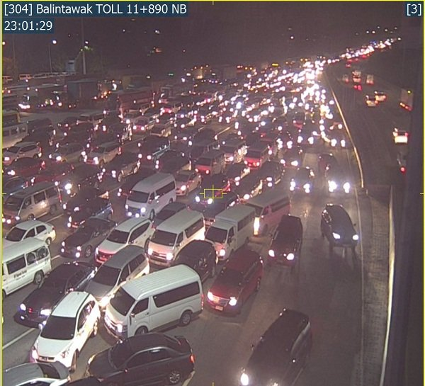 traffic update nlex balintawak