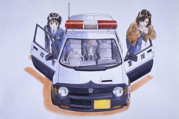 Miyuki and Natsumi with Honda Today