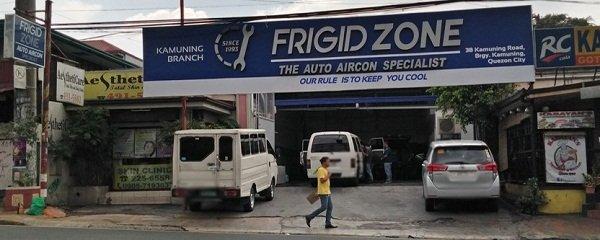 The Frigid Zone car Aircon Specialist Quezon city