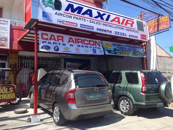 A picture of the Max Air Car Aircon shop.