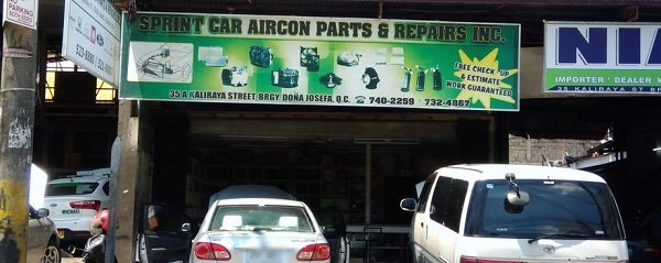 A picture of the Springcar Aircon Parts and Repair shop