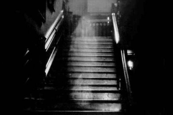 A picture of the Brown Lady of Raynham Hall