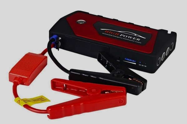 4USB Multi-Function Car Jump Starter Power Bank Battery