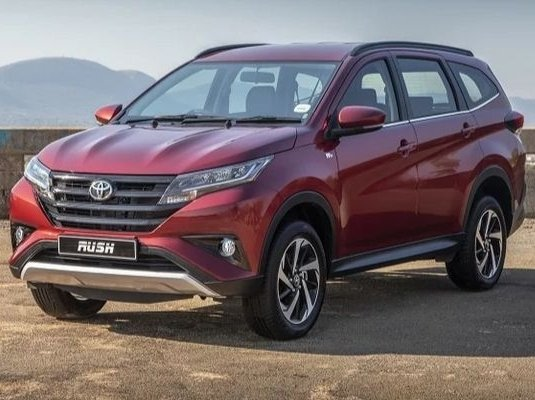 "The Toyota Rush, otherwise known as the ""baby Fortuner"""