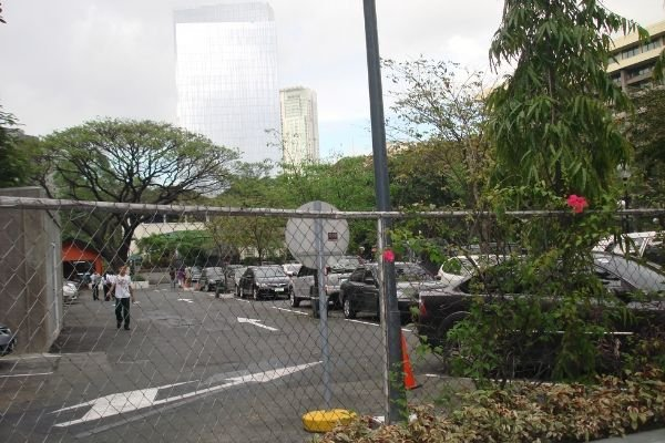 A picture of the Gabriella Silang car park