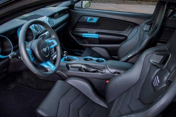 Mustang Lithium Prototype interior