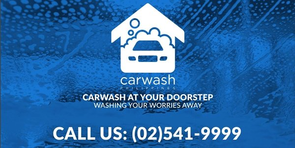 A picture of Carwash Philippine's promotional poster