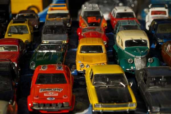 Small toy cars
