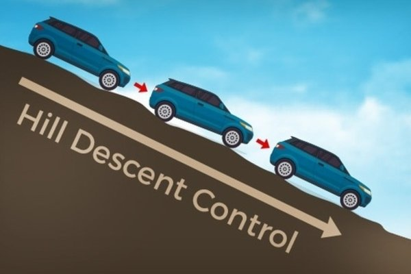 Hill Descent Control illustration