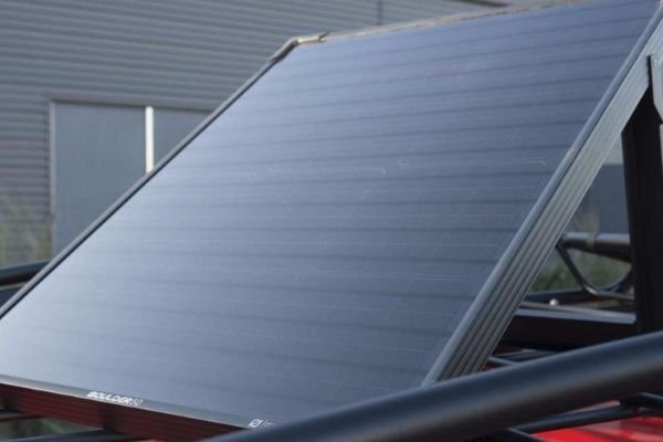 Hyundai Veloster Grappler concept's solar panel