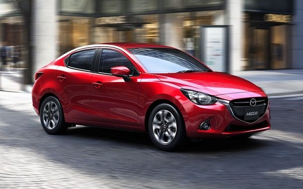 A picture of the Mazda 2