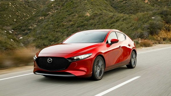 A picture of the Mazda 3