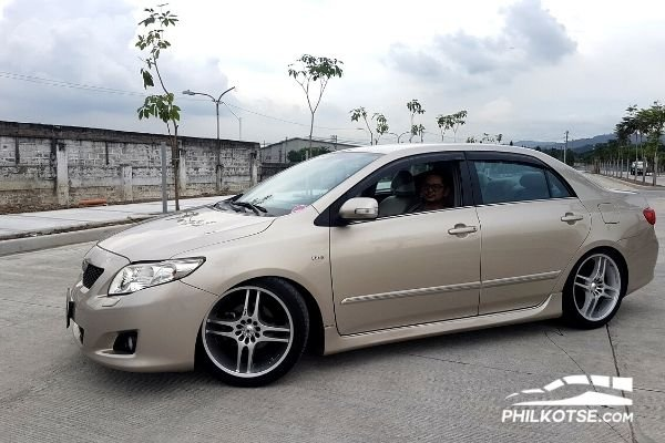 Toyota Corolla Altis profile with owner