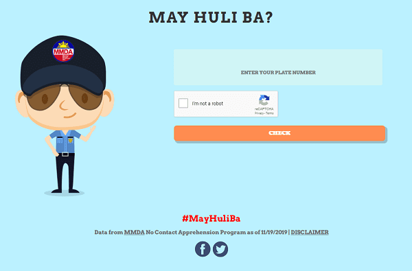 A picture of the mayhuliba.com website