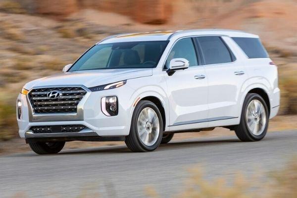 2020 Hyundai Palisade on the Road