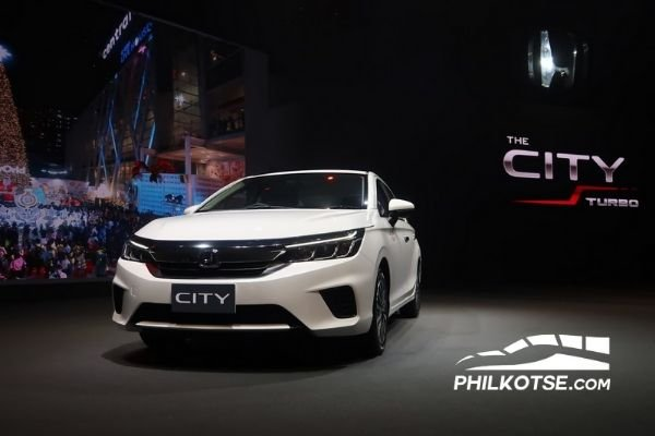 Honda City Launch white on stage