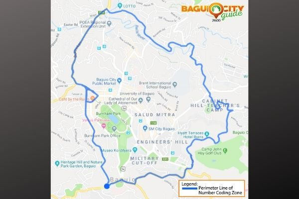 baguio number coding scheme map