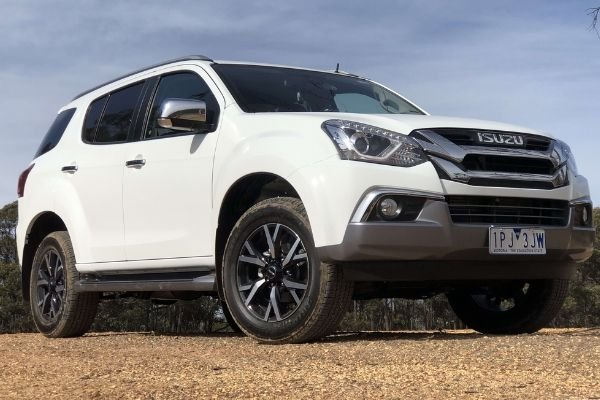 A picture of the 2019 Isuzu Mu-X