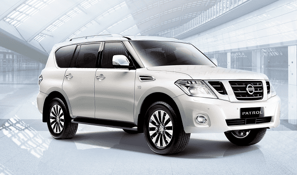 A picture of the Nissan Patrol Royale