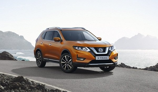 A picture of the 2020 Nissan X-Trail
