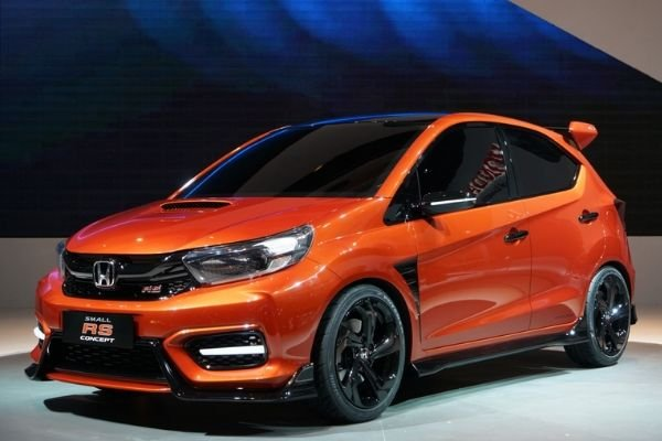 Honda Brio 2020 on display