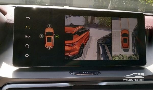 2020 Geely coolray rear cam
