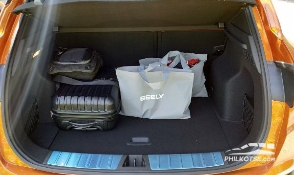 Geely coolray 2020 cargo
