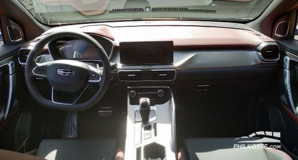 Geely Coolray 2020 interior