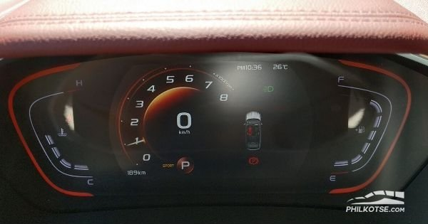 2020 geely coolray sport mode