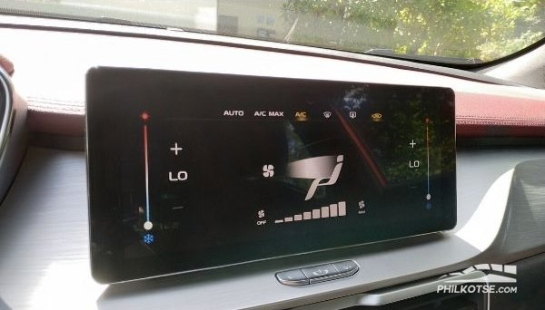2020 Geely coolray touch screen