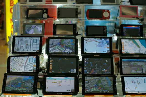 Different types of GPS device