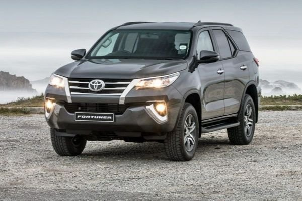 A picture of the Toyota Fortuner