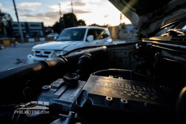 2 pajeros diesel engine