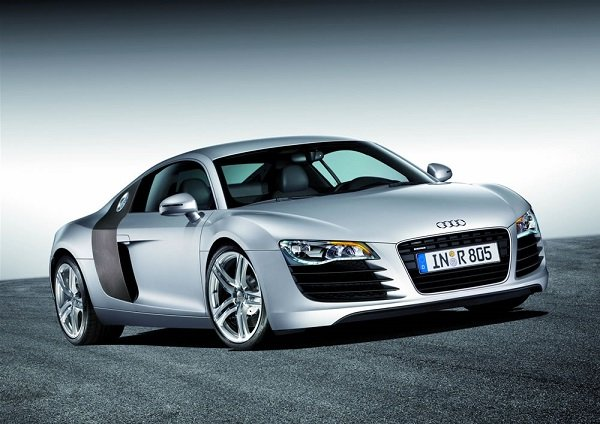 A picture of a 2006 Audi R8