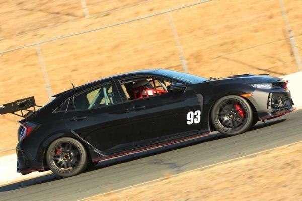 Honda Civic Type R TC's side