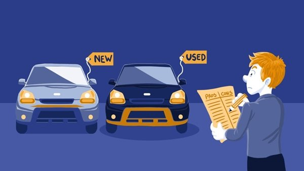 consider buying old or new car