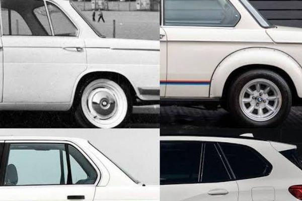 BMW models displaying the Hofmeister kink