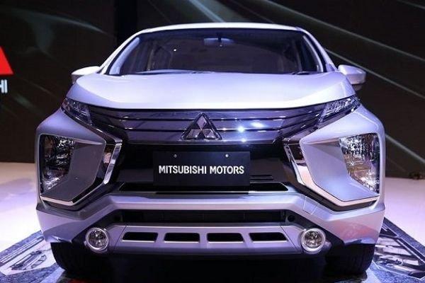 Front of the Mitsubishi Xpander