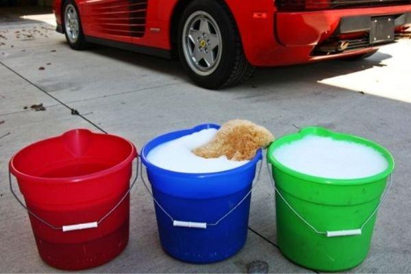 Three bucket system