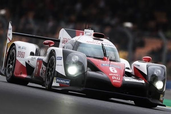 A picture of Toyota Gazoo's Le Mans car