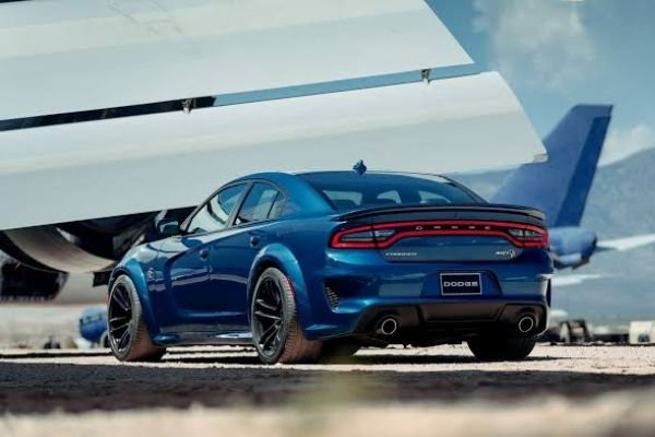 dodge charger demon on the tarmac