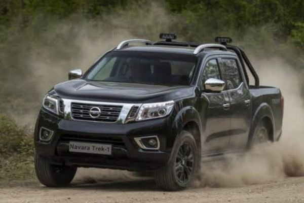 A picture of the Nissan Navara