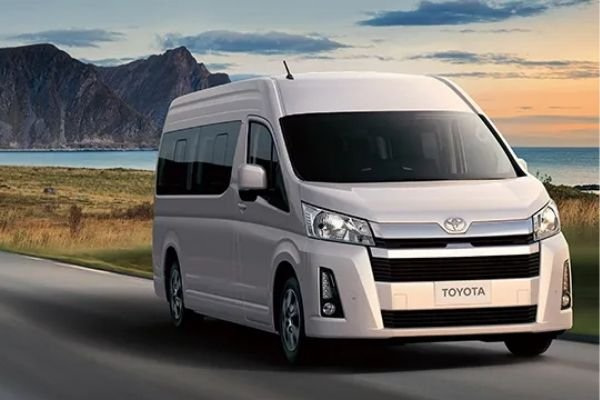 A picture of a Toyota Hiace