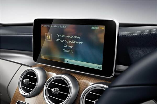 The COMAND infotainment system