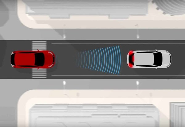 forward auto-braking system