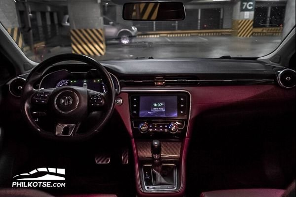mg6-front-dashboard-being-showcased